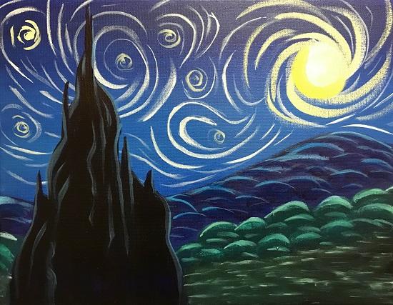Painting & Brews - 'Let's Gogh'