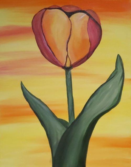 Fiery Tulip - KB