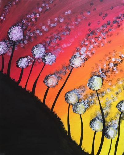 Live Online Event 'Summer Dandelions'