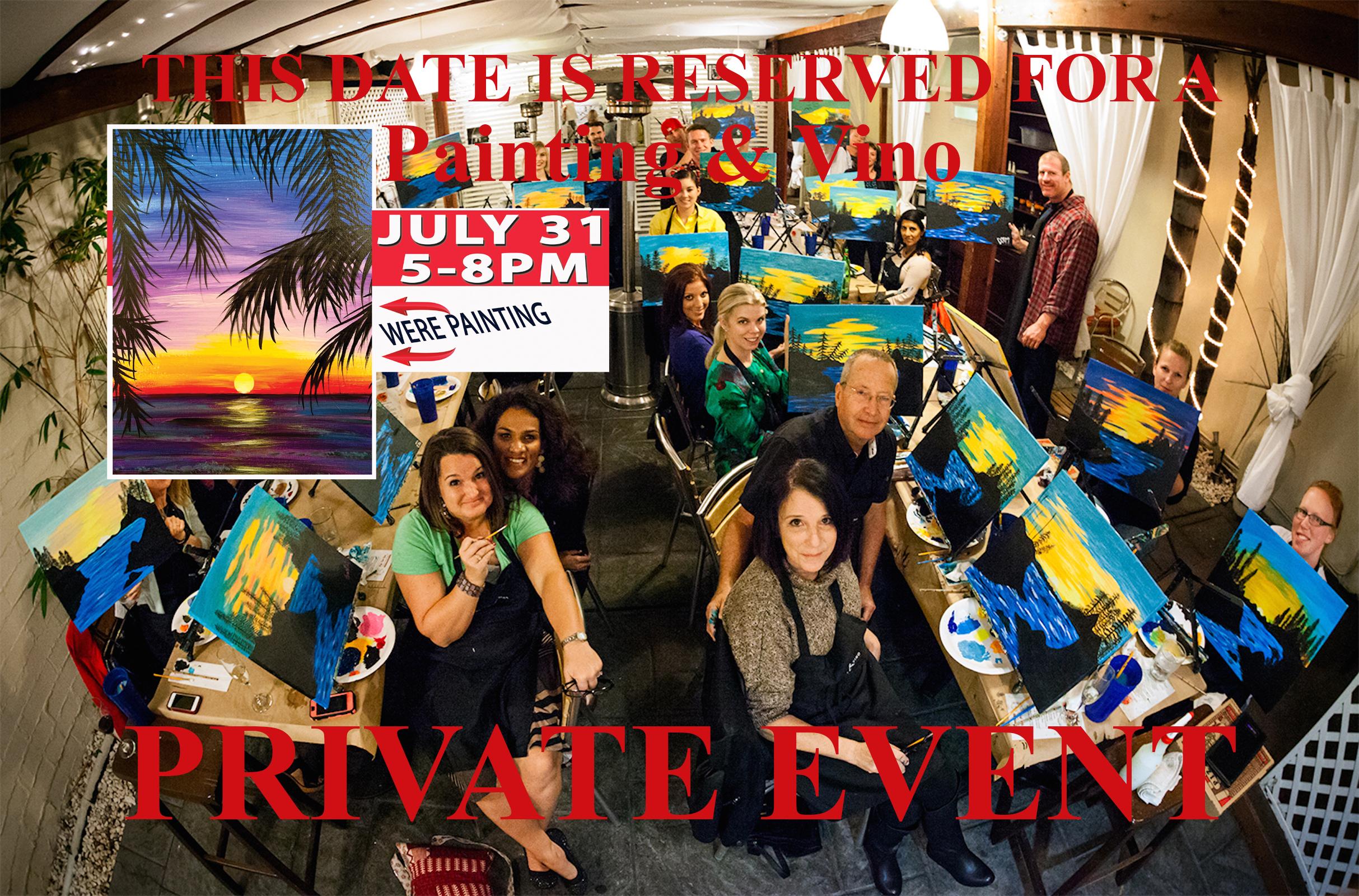 Private Fleet Reserve Paint Event