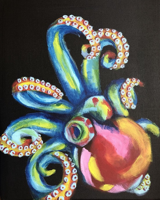 'Colorful Octopus'