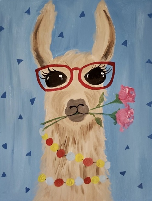 Kiddos Lovely Llama - Live Online Event