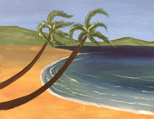 Painting & Brews - 'The Beach'