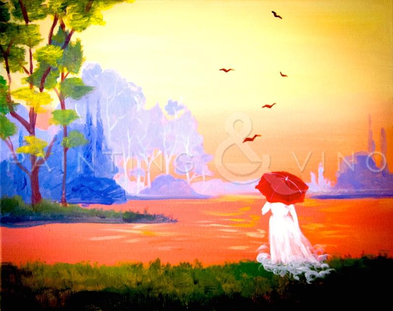 'Red Umbrella'