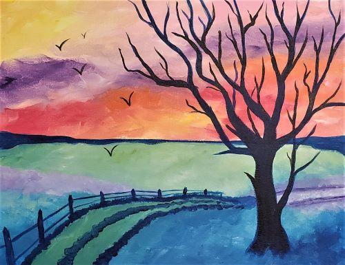 Pastel Sunrise KB
