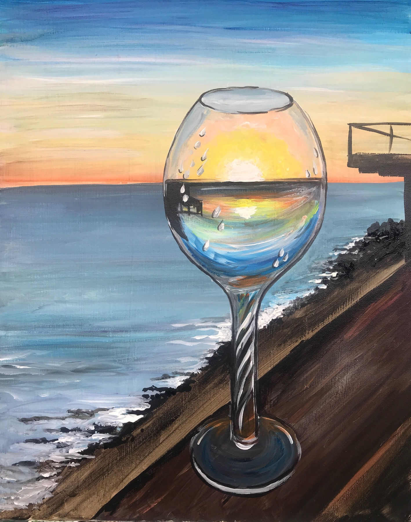 Glass of Sunset