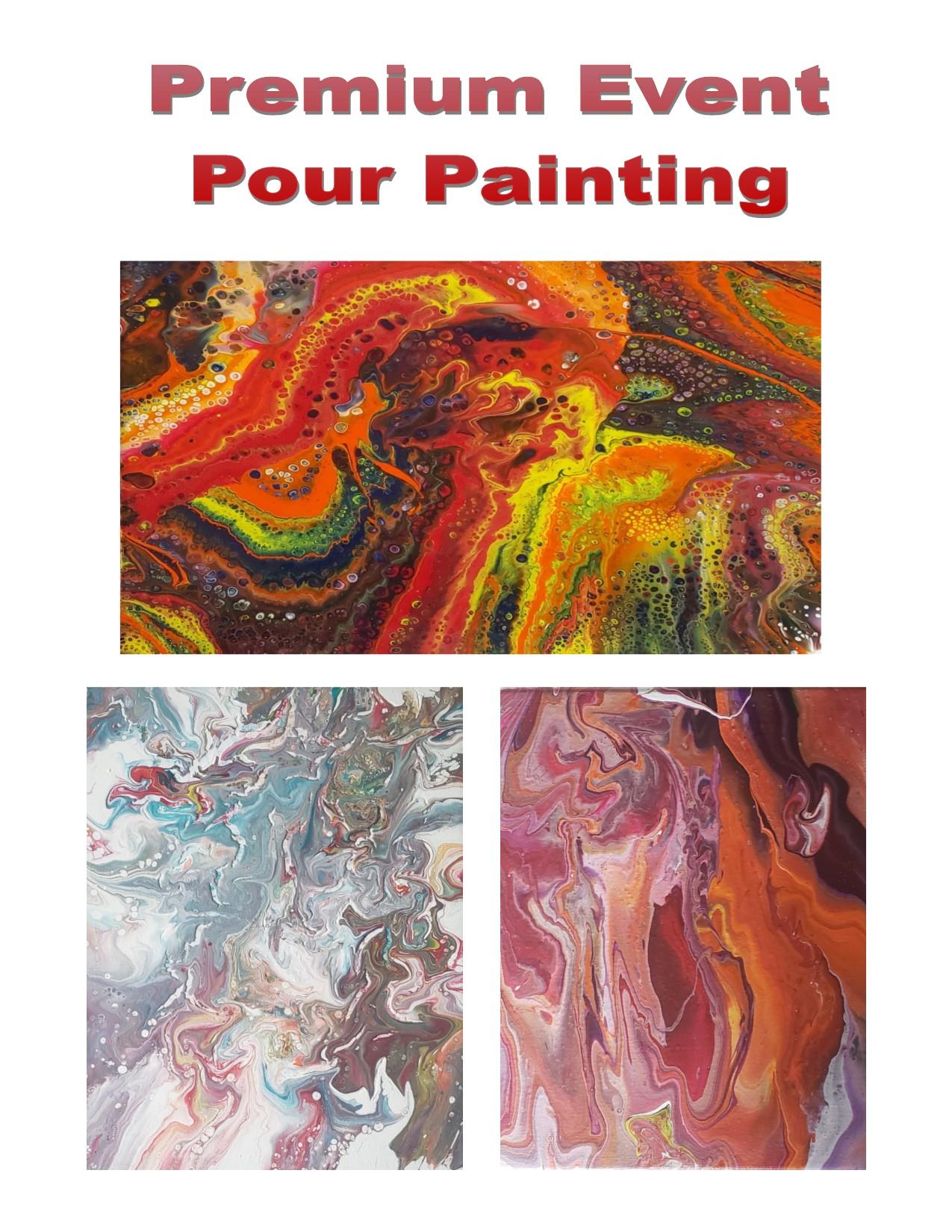 Premium Pour Painting
