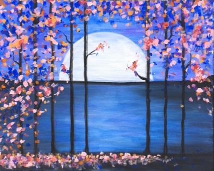 'Moonlit Flowers'
