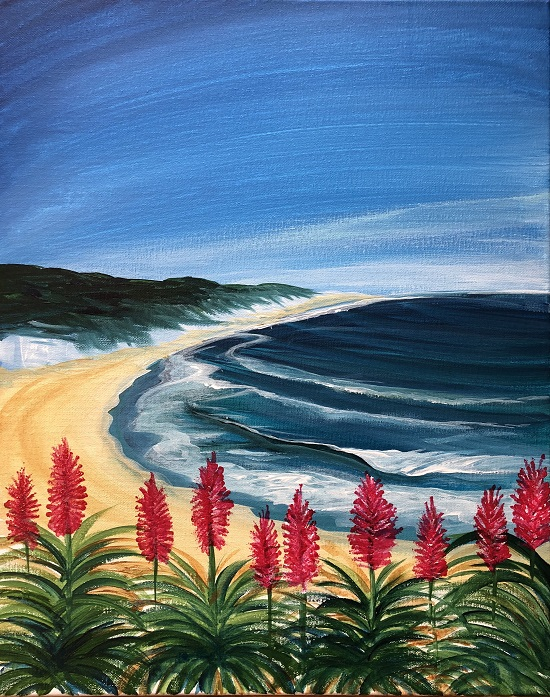 'Aloes Over the Pacific'