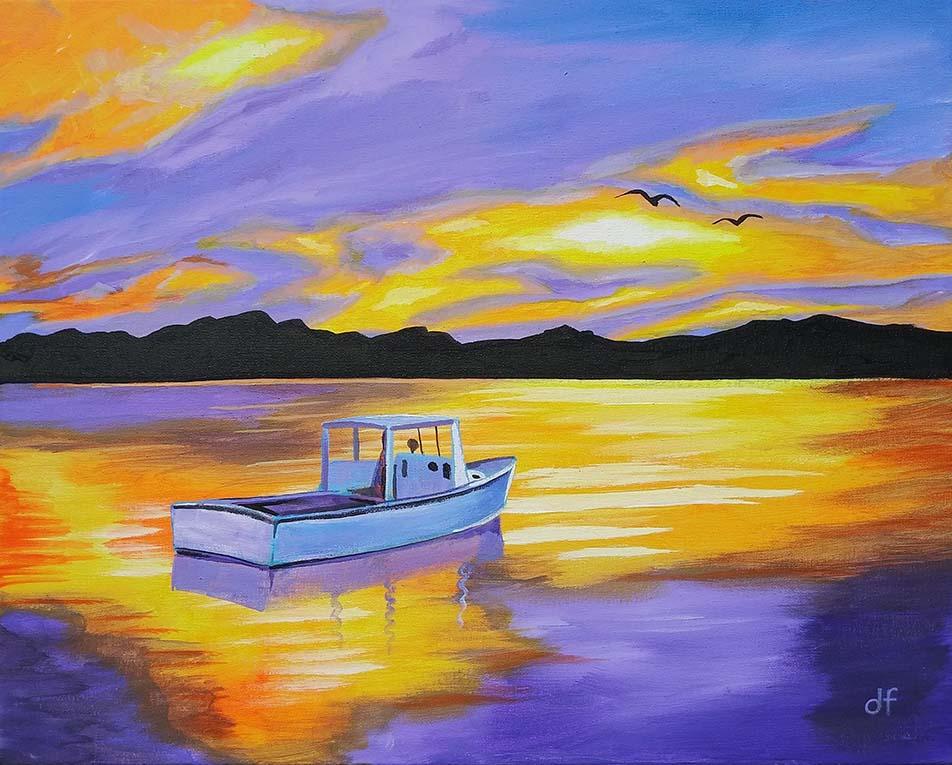 Quiet Fishing Boat