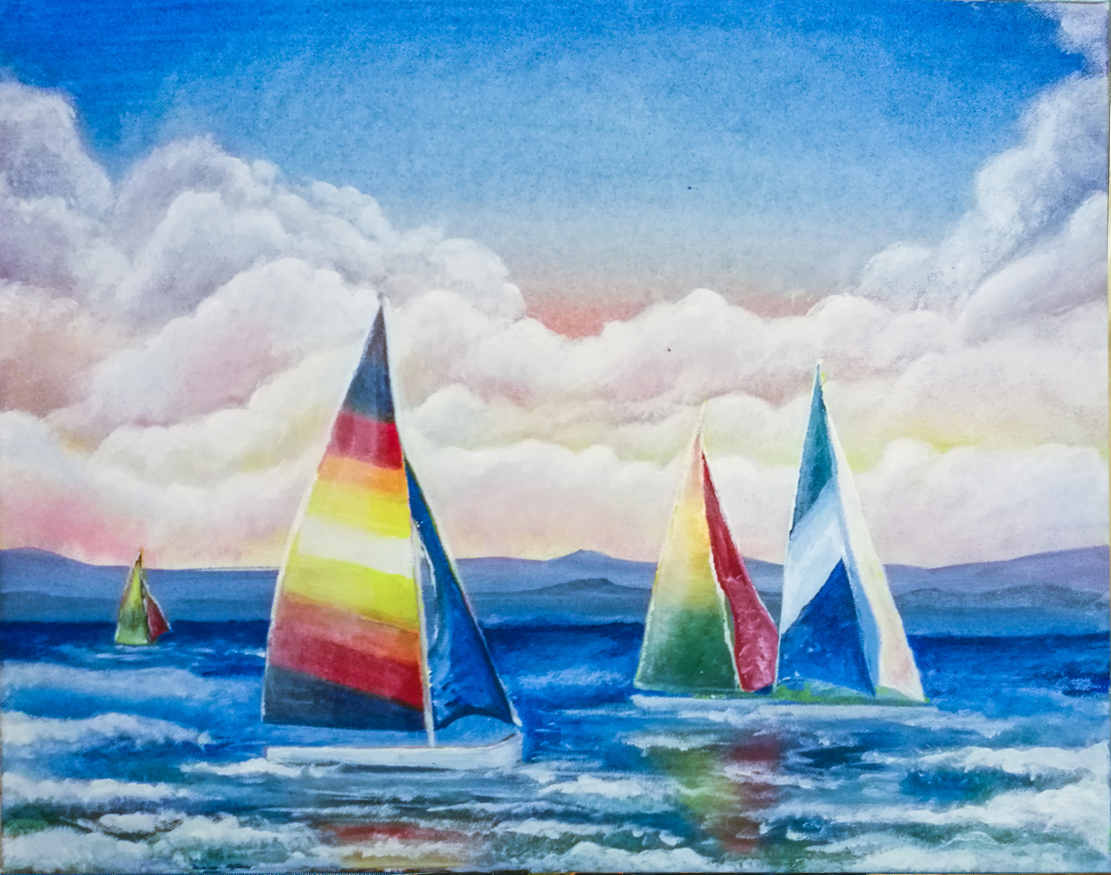 'Sailing the Bay'