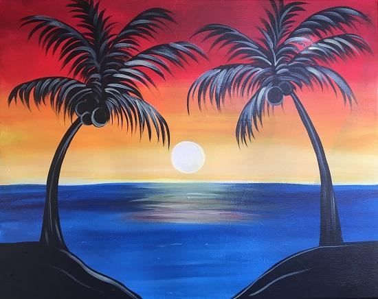 'Sunset Paradise'