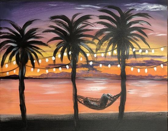 Hammock and Palms