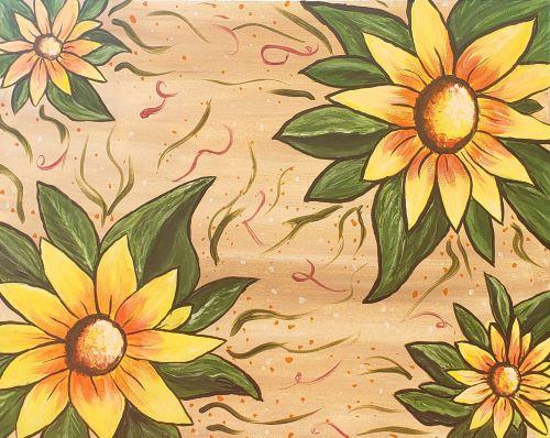 Autumn Sunflowers KB