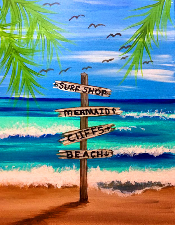 Personalize your Beach Sign