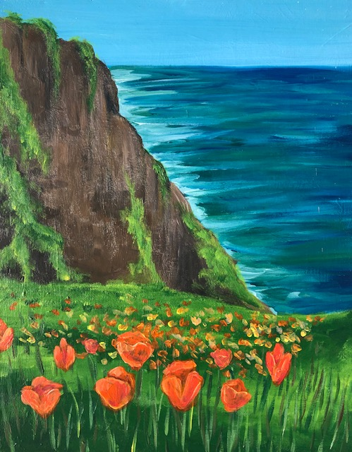 'California Poppies' -REPLAY