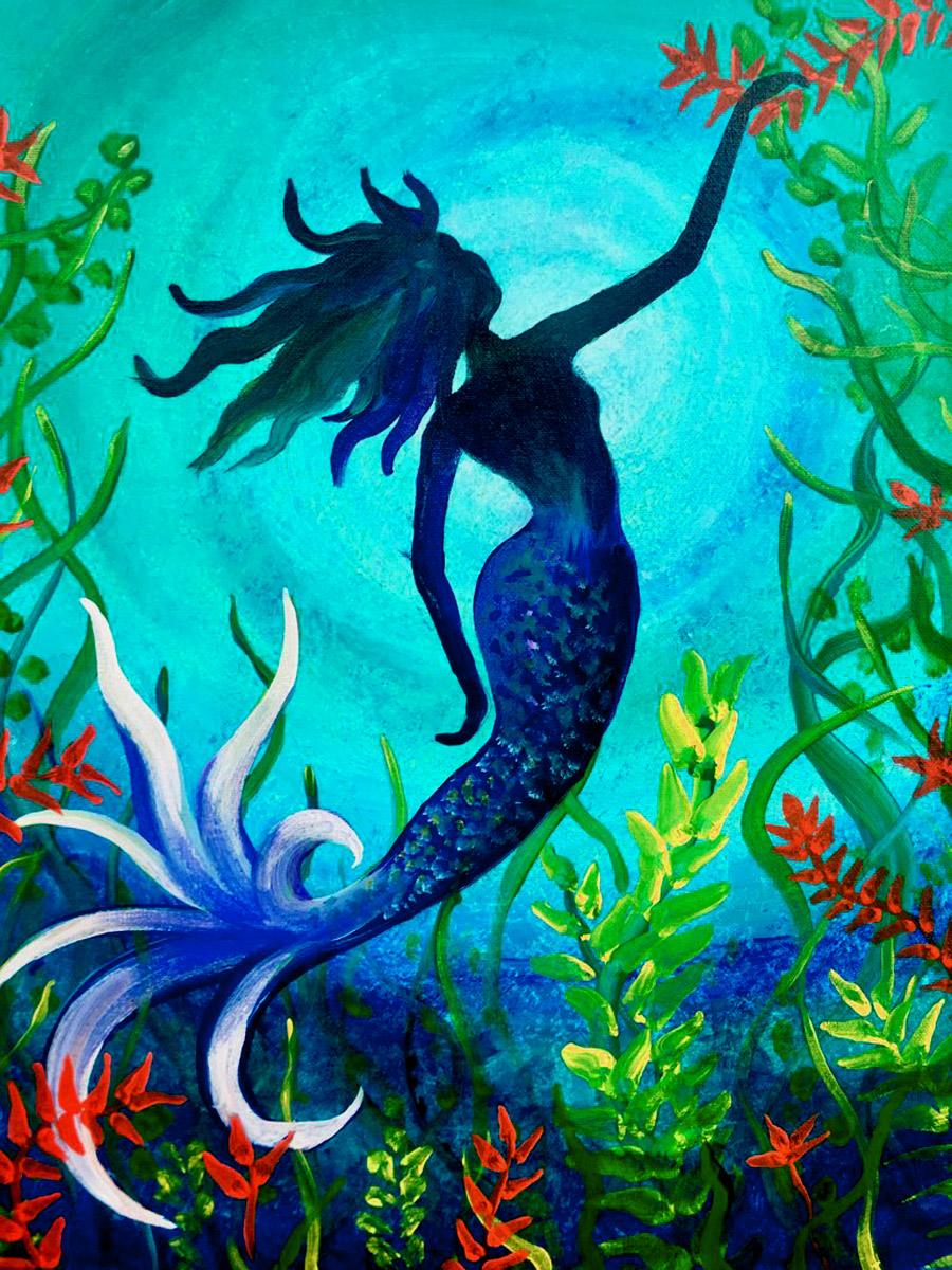 Live Online Mermaid