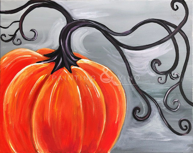 'Stylish Pumpkin' - Live Online Event