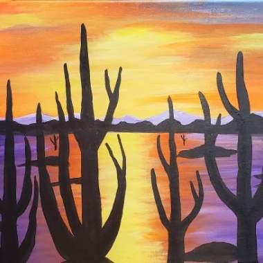 Desert Cacti - Live online event