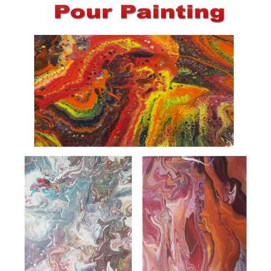 Premium Pour Painting - Live Online Event