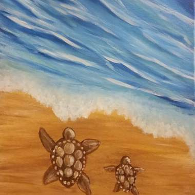 Turtles by the sea (Online)