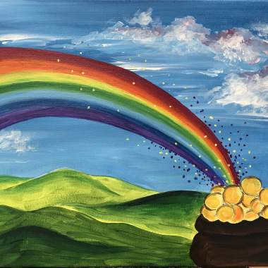 'Pot of Gold' Painting and Kiddos (Online)