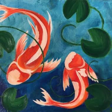 'Swimming Koi'