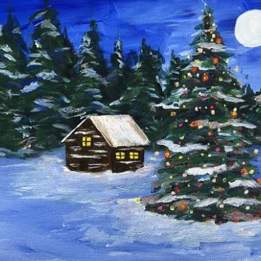 'Christmas Cabin'