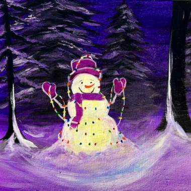 'Lighted Snowman' -REPLAY
