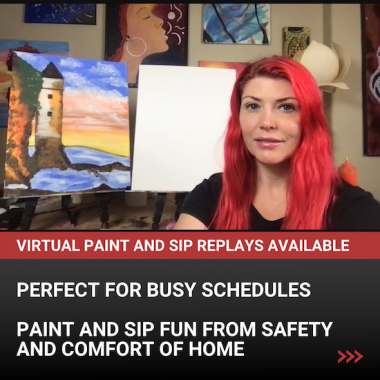 Paint and Sip Online Replay Library
