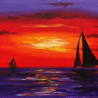 'Sail Boats At Sea' (Online)