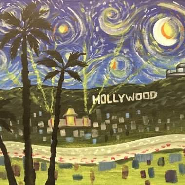 'LA Starry Night'