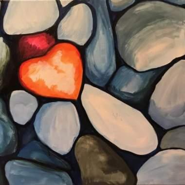 Heart shaped Rock