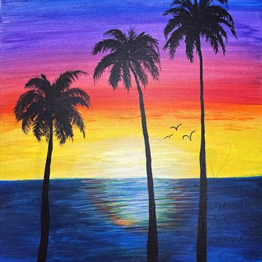 'Sunset Reflections'