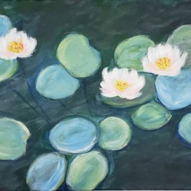 Monet's Water Lilies- Live online event