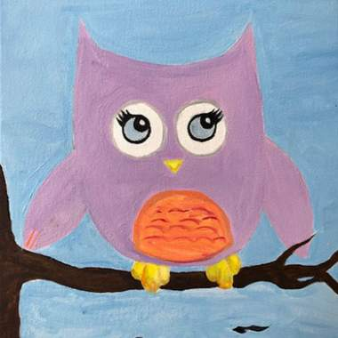 'Happy Owl' -Kids Live Online Event