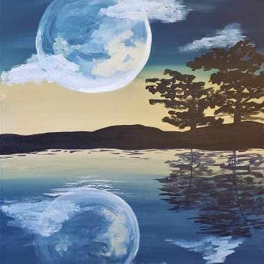 Moonlight Reflections