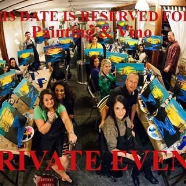 Private Bachelorette Paint Event