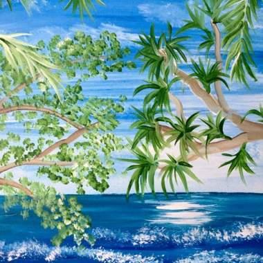 Beach Foliage with Erin