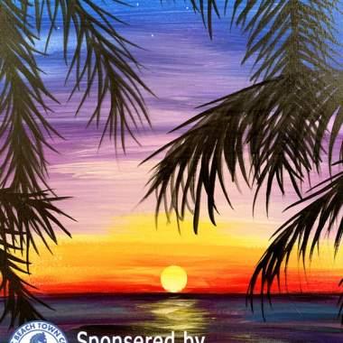 Live Online Purple Palms