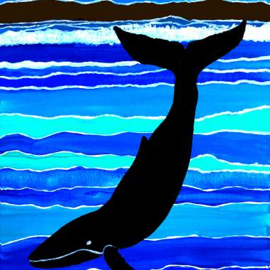 Whale Song Outdoor Paint with Erin