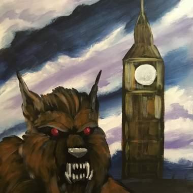 'Werewolf in London' - Painting & Brews