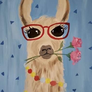 Kiddos Lovely Llama - Live Online Event