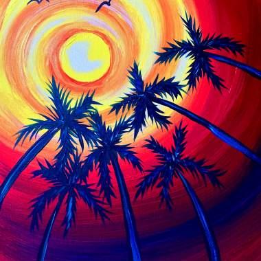 Palm Sun with Erin