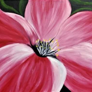 Live Online - Pink Hibiscus