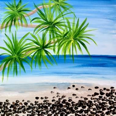 Beach Rocks with Erin