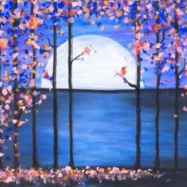 'Moonlit Flowers' -Live Online Event