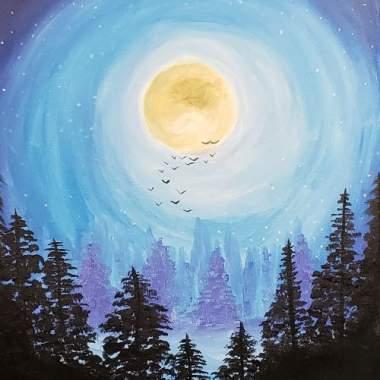 Full Moon at Carmichael Park