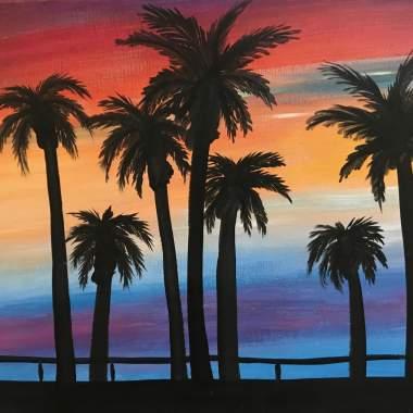 'Beach Palms'