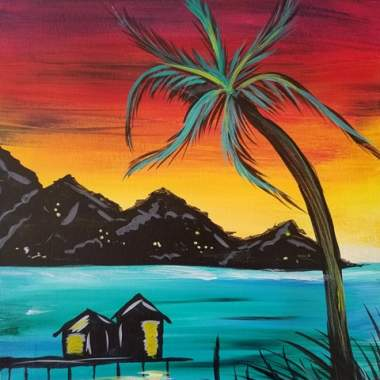 Tahitian Sunset - Live Online Event